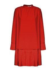 Jolie By Edward Spiers Short Dresses Red