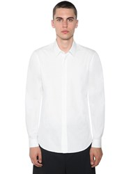 Jil Sander Racconto Nfi Cotton Shirt White