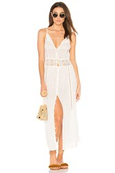 Amuse Society Pria Dress White
