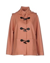 Alysi Coats And Jackets Coats Women Apricot