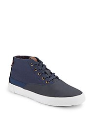 Ben Sherman Percy Lace Up Sneakers Navy