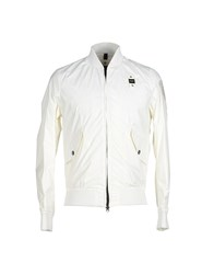 Blauer Coats And Jackets Jackets Men White
