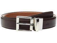 Polo Ralph Lauren Saddle Leather 1 1 8 Reversible Brown Cognac Men's Belts