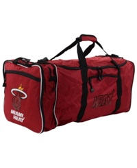 Concept One Miami Heat Steal Duffel Bag Red