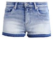 Evenandodd Denim Shorts Light Blue