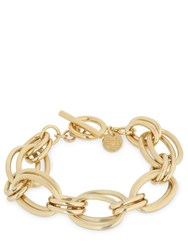Philippe Audibert Brass Chain Bracelet Gold