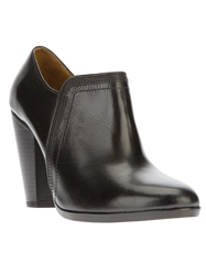 Christophe Lemaire Tapered Heel Bootie Black