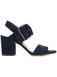 Stuart Weitzman City Sandals Blue
