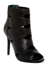 Charles By Charles David Reform Open Toe Bootie Black