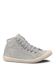 Palladium Canvas Flex Lace Sneakers Grey