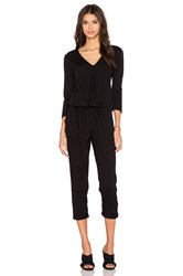 Stateside 3 4 Sleeve Jumpsuit Black