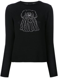 G.V.G.V. Cartoon Jumper Black