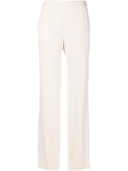 Cedric Charlier Cedric Charlier Wide Leg Trousers Nude And Neutrals