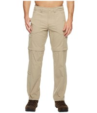 Royal Robbins Traveler Zip N' Go Pants Khaki Men's Casual Pants