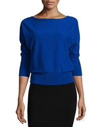 Milly 3 4 Dolman Sleeve Pullover Top