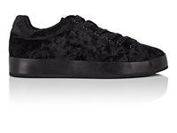 Rag And Bone Rb1 Velvet Platform Sneakers Black