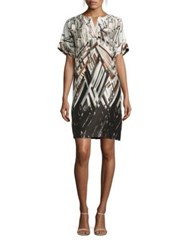Lafayette 148 New York Nazeen Printed Silk Shantung Dress