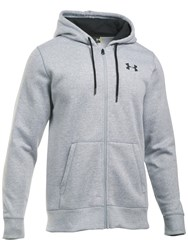 Under Armour Storm Rival Fleece Full Zip Hoodie True Grey