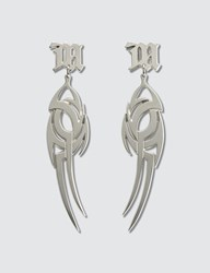 Misbhv The Tribal Earrings Silver