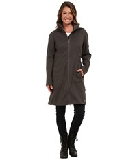 Merrell Haven Softshell Shadow Heather Women's Coat Black