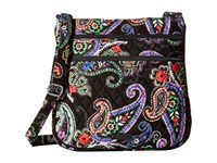 Vera Bradley Triple Zip Hipster Kiev Paisley Cross Body Handbags Multi