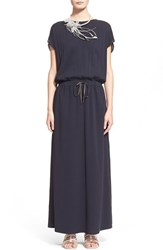 Women's Fabiana Filippi Silk Crepe Maxi Dress