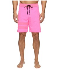 Hurley Phanton Block Party Heather 2.0 Neon Pink Men's Swimwear