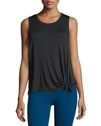 Beyond Yoga All Tied Up Racerback Performance Tank Black