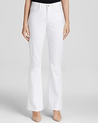 Nydj Flare Leg Jeans In Optic White Bloomingdale's Exclusive