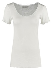 Cream Basic Tshirt Chalk Off White