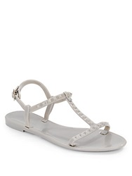 Saks Fifth Avenue Bibi Studded Jelly Sandals