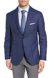Santorelli Men's Classic Fit Wool Blazer