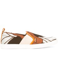 Bally Henrikat Slip On Sneakers Nude Neutrals