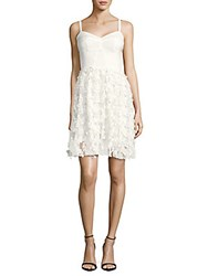 Amanda Uprichard Confetti Lace Dress White