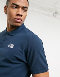 The North Face Polo In Navy Blue