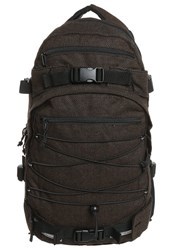 Forvert New Louis Rucksack Flannel Brown Mottled Brown