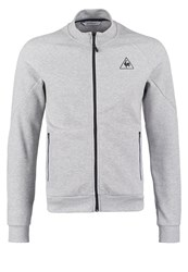 Le Coq Sportif Tech Tracksuit Top Light Heather Grey Mottled Light Grey