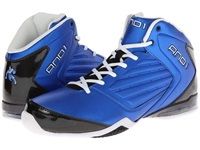 And 1 Master 2 Mid Royal Black White Men's Basketball Shoes