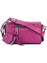 Marc Jacobs Recruit Cross Body Bag Pink Purple