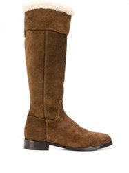 Dolce And Gabbana Rodeo Boots Brown