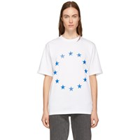Etudes Studio White Wonder Europa T Shirt