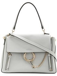Chloe Faye Day Medium Bag Grey