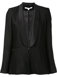 Veronica Beard Single Breasted Dinner Jacket Black
