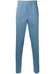 Neil Barrett Tailored Denim Trousers Men Cotton Spandex Elastane Modal 50 Blue