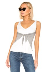 Bailey 44 Topsail Contrast Top White