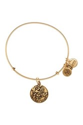 Alex And Ani Aunt Expandable Wire Bangle Metallic