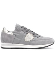 Philippe Model Tropez Lace Up Trainers Grey
