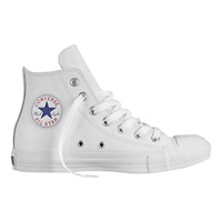 Converse High Top Trainers White Leather