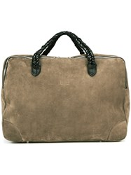 Golden Goose Deluxe Brand 'Equipage' Holdall Brown