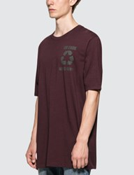 Faith Connexion Pr Oversized Burgundy S S T Shirt